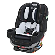 Graco 4Ever Extend2Fit 4-in-1 Car Seat, Hyde