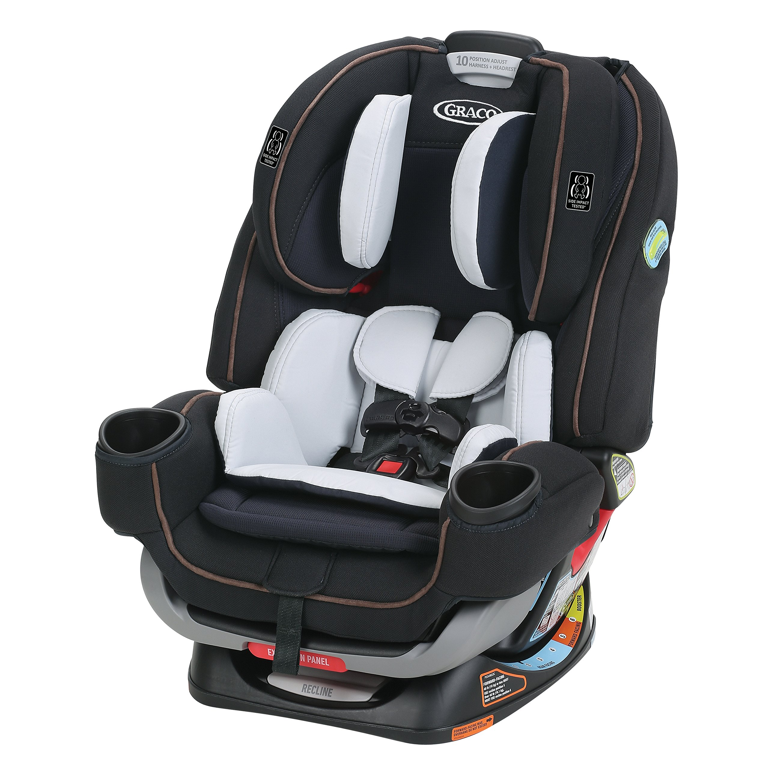 Amazon.com : Graco 4Ever Extend2Fit All in One Convertible ...