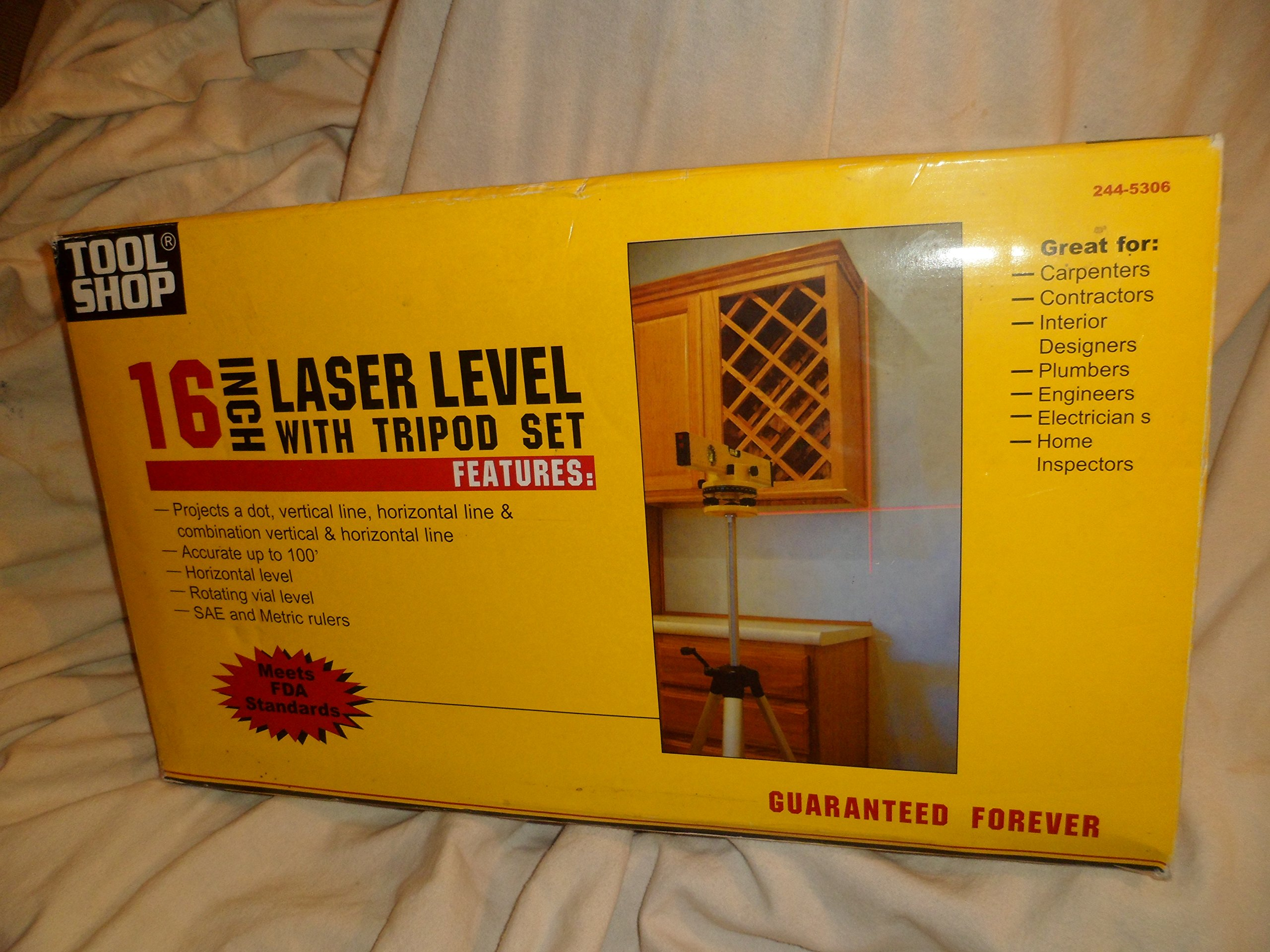 Contractors 16 Inch Laser Level With Tripod For Interior Designers And Carpenters