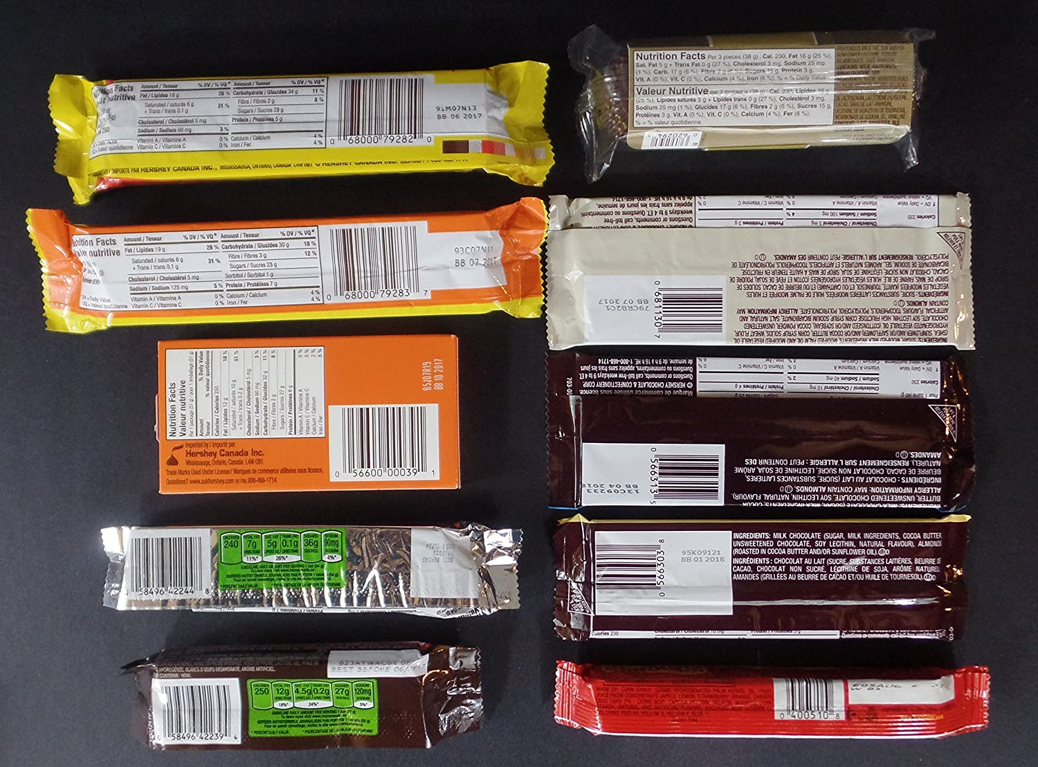 Amazon.com : Lot of 30 Packs Chocolate & Candy Assortment Includes Snickers, Mars and more. Sorted and Paged by Variety To Go : Grocery & Gourmet Food
