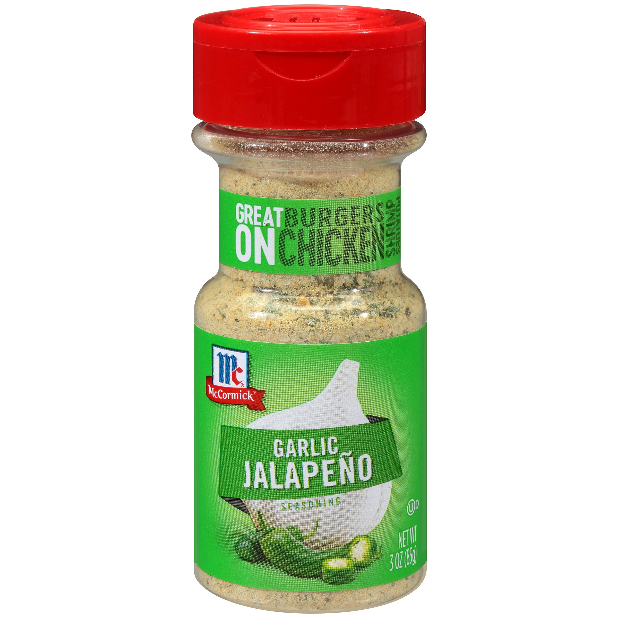 McCormick Garlic Jalapeno Seasoning, 3 oz (Pack of 72)