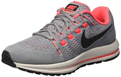 8ea759294a2 Image Unavailable. Image not available for. Color  NIKE Women s Air Zoom  Vomero 12 Running Shoes(Grey Black ...