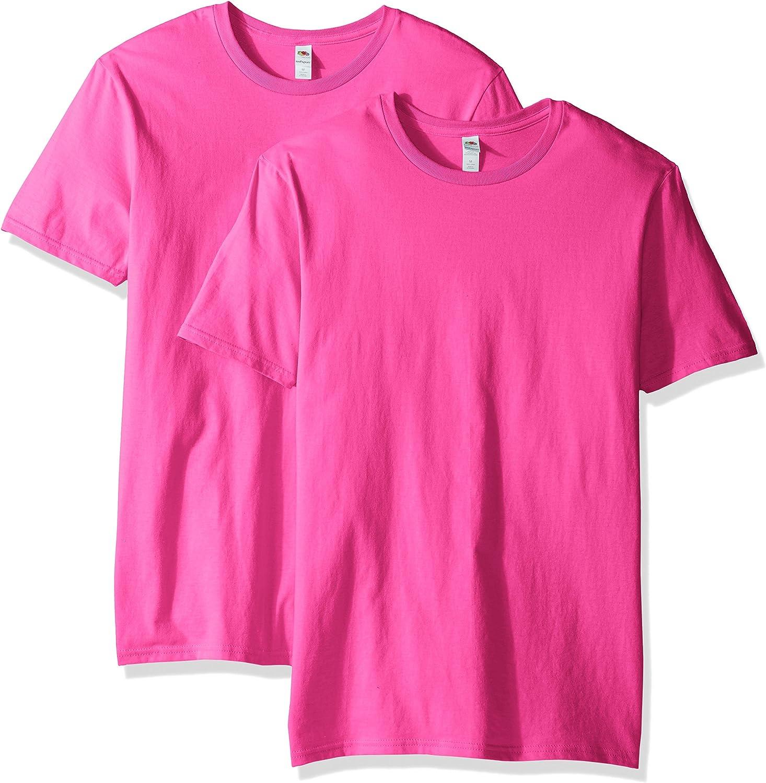 Fruit of the Loom Men's Lightweight Cotton Crew T-Shirt Multipack
