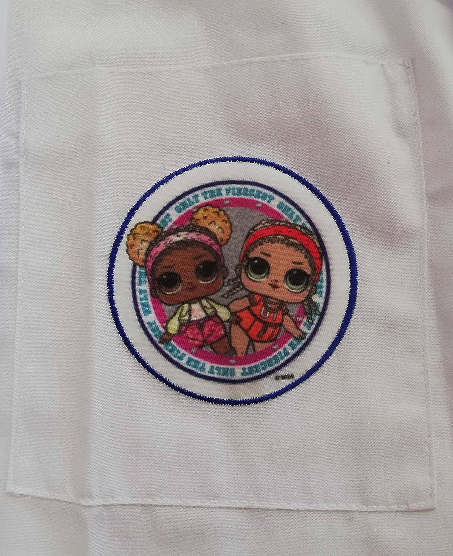 5 ANNI-110 CM VAISYA DI SAVONA FRANCESCA Grembiule Scuola Materna; Minnie Art.G010 Originale Disney-Alta QUALITA