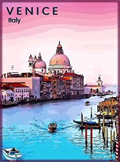 FINE-ART-PRINT-Ancient-View-Venice-Dome-Poster-Paper-or-Canvas-for-home-decor
