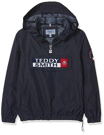 639657444004c Teddy Smith - Bansky Jr - Blouson - Garçon - Bleu (Dark Navy 351 ...