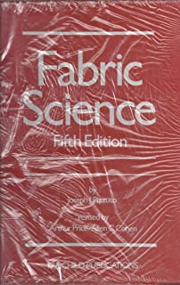 Jj pizzutos fabric science 8th edition joseph j pizzuto fabric science fandeluxe Gallery