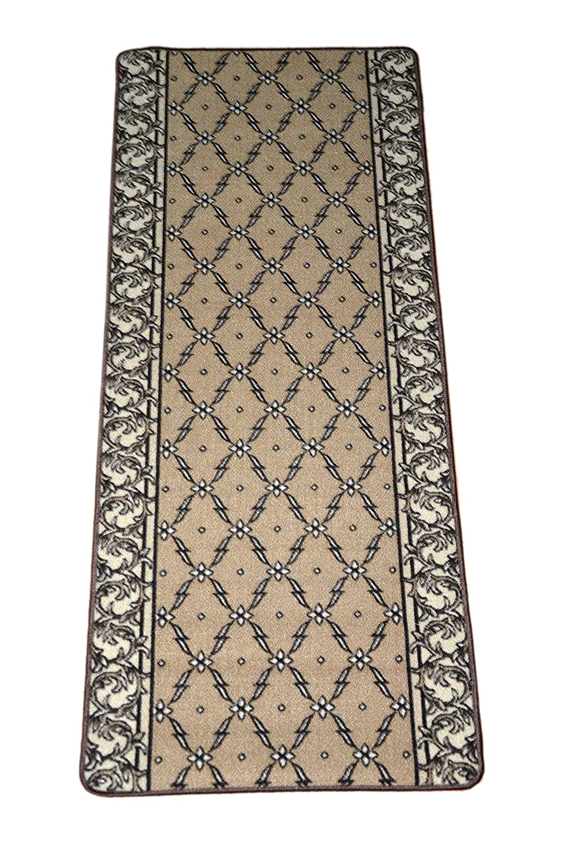 amazoncom trellis beige carpet rug hallway runner 5u0027 industrial u0026 scientific