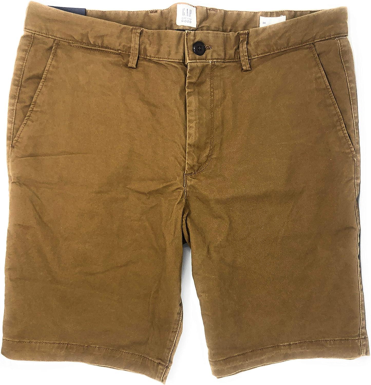 GAP Mens Flat Front Chino Shorts