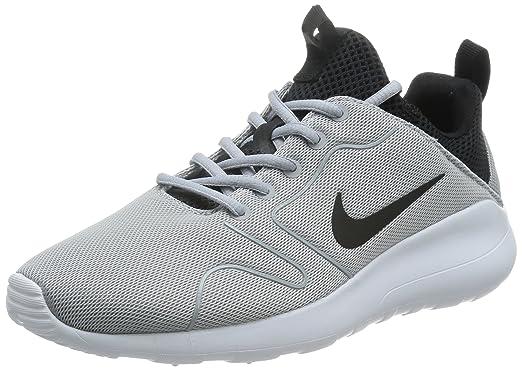 purchase cheap 016f2 55dff Nike Men s Kaishi 2.0 Wolf Grey Black White Running Shoe - 13 D(