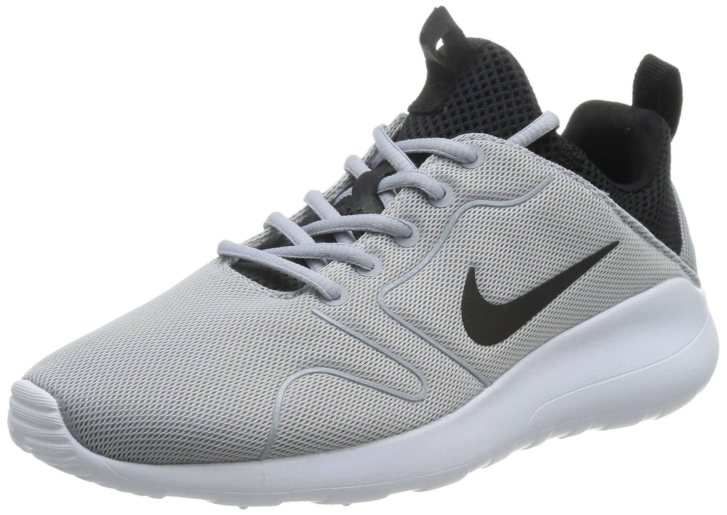 online store 746e3 8fb8a Galleon - Nike Men s Kaishi 2.0 Wolf Grey Black White Running Shoe - 10  D(M) US