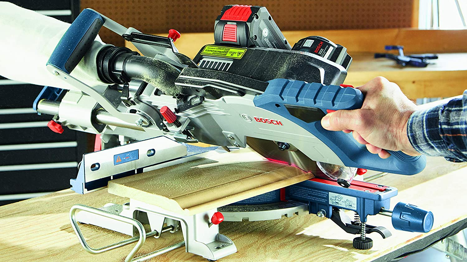 Working with Best Power Miter saw