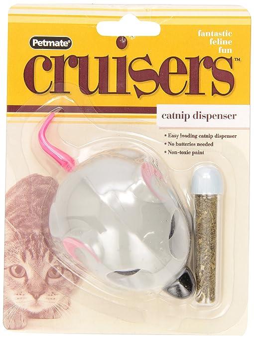 Booda Petmate Catnip Cruiser - Ratón de Juguete para Gato, Color Gris