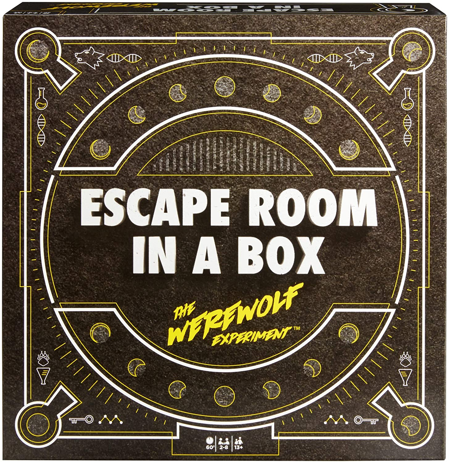 Buy Escape Room In A Box The Werewolf Experiment Game Online At Low Prices In India Amazon In