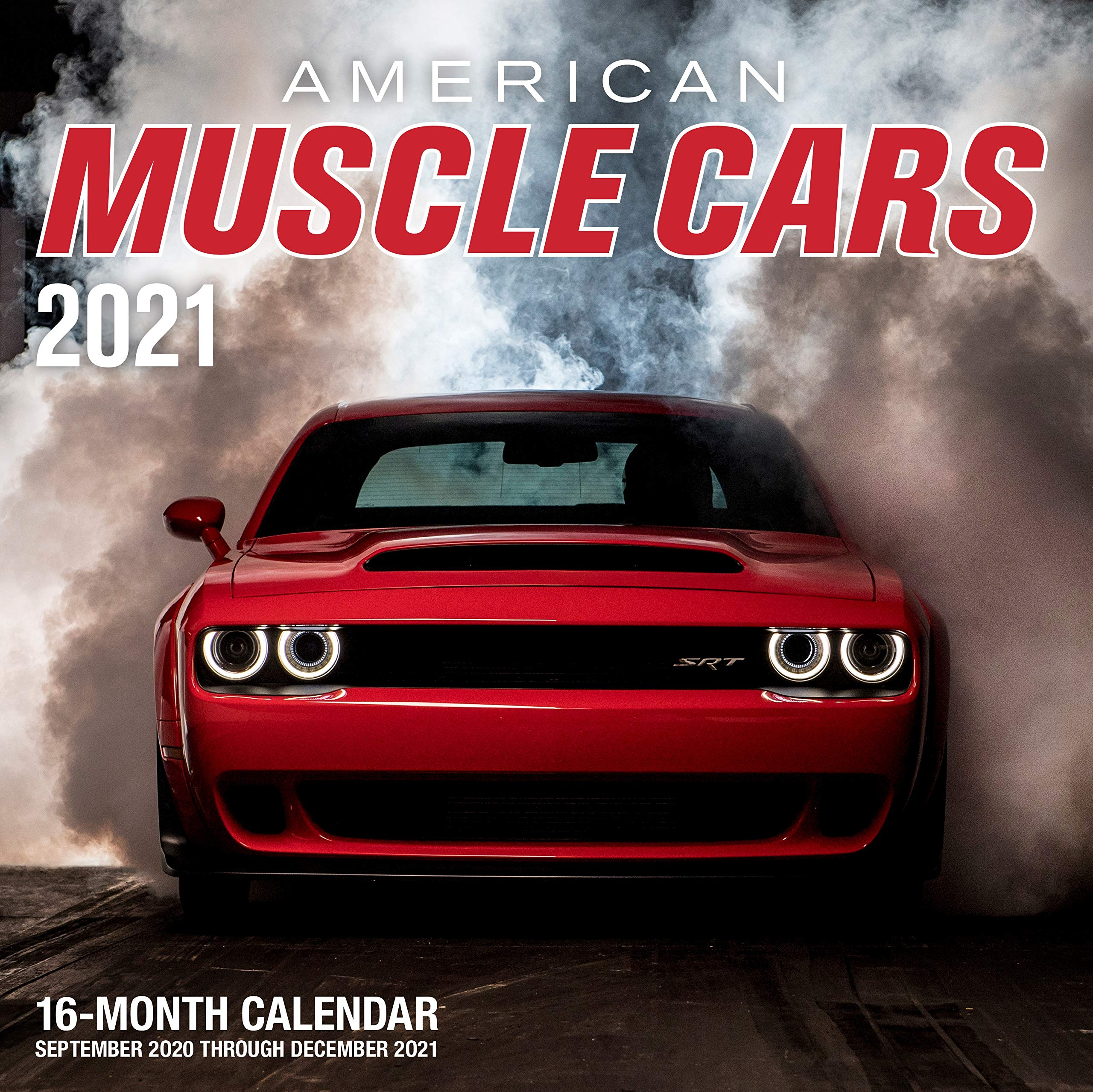 American Muscle Cars 2021: 16 Month Calendar   September 2020