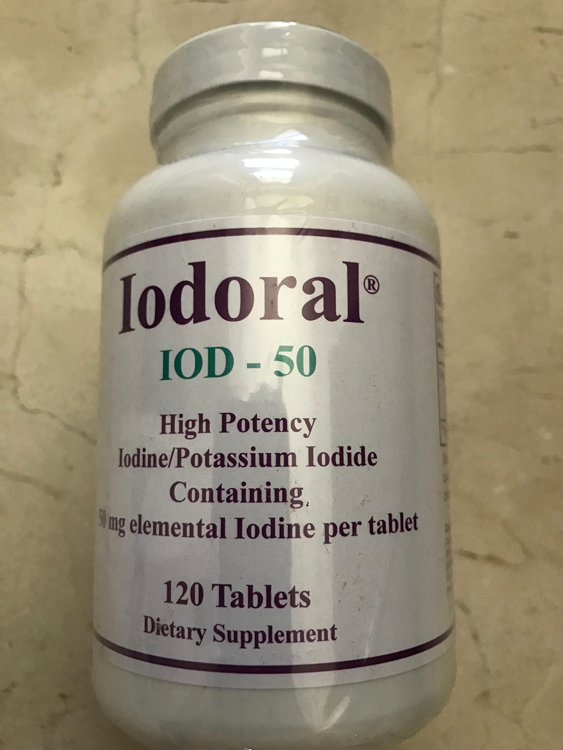 Iodoral IOD-50 120 Tablets (120 Tablets)