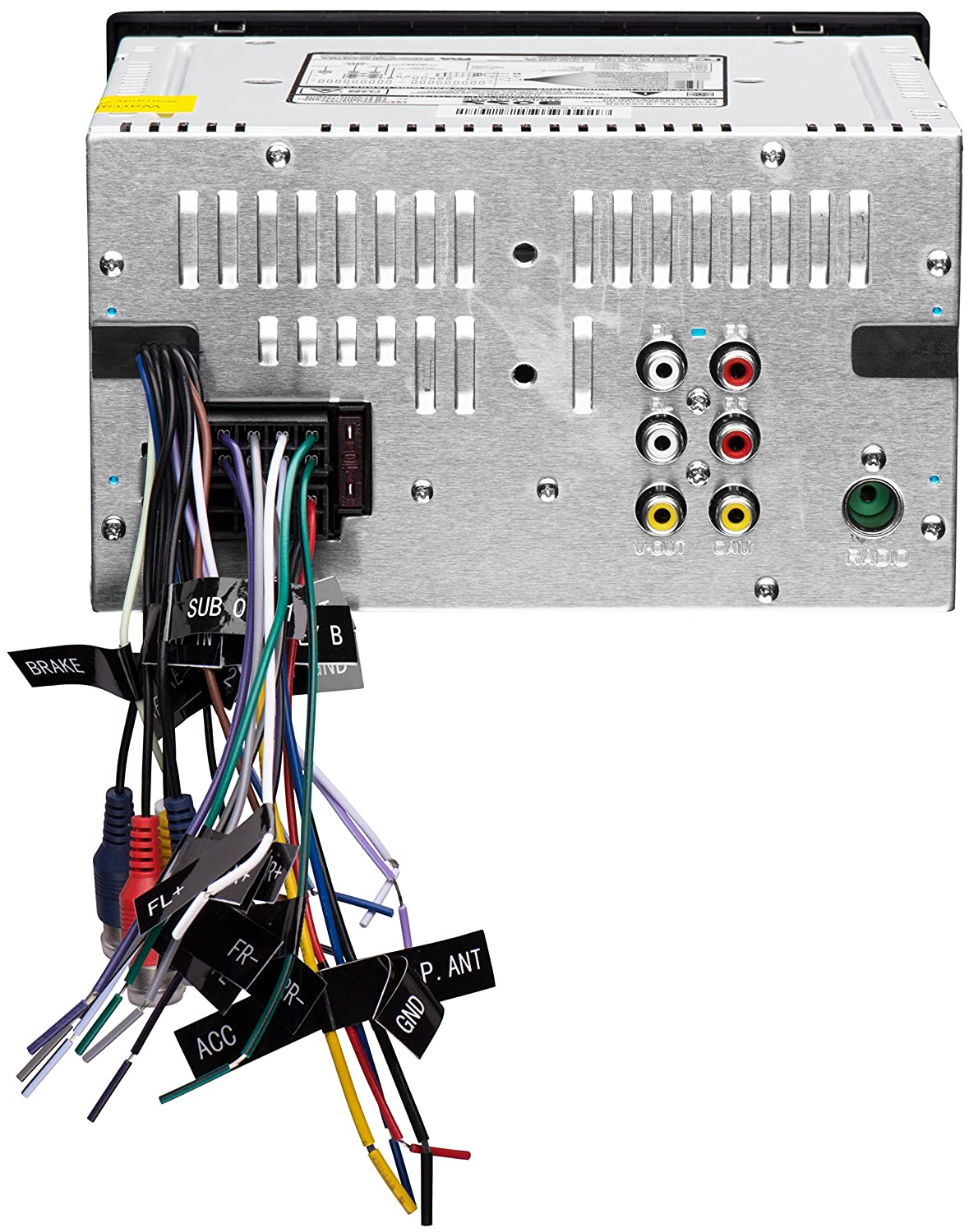 Boss Dvd Car Stereo Wiring Diagram - Wiring Source •
