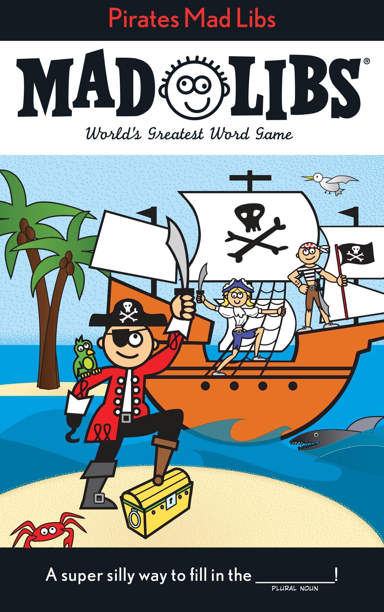 Pirates Mad Libs PDF