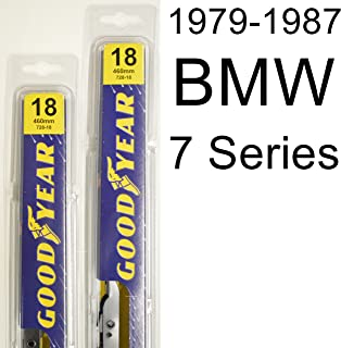 "product image for BMW 7 Series (1979-1987) Wiper Blade Kit - Set Includes 18"" (Driver Side), 18"" (Passenger Side) (2 Blades Total)"
