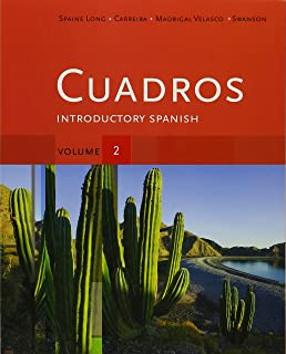 Amazon Cuadros Student Text Volume 2 Introductory Spanish