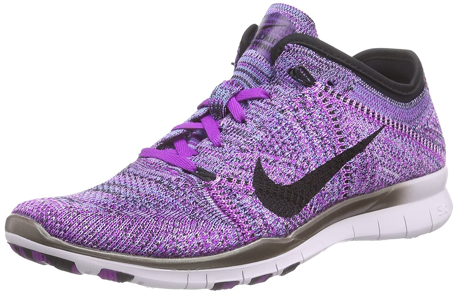 nike free flyknit violet christmas merry