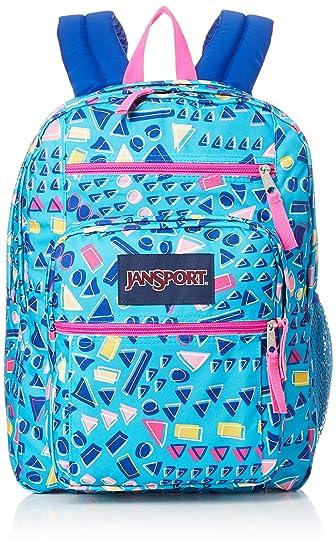 Jansport Unisex Big Student Backpacks, Tumbled Treasures, One Size