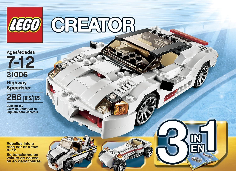 Amazon Lego Creator Highway Speedster 31006 Toys Games
