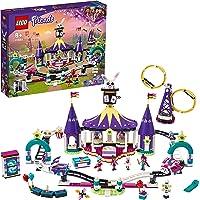 LEGO 41685 Friends Magische Kermisachtbaan Speelset, Cadeau voor Kinderen met Trucs, Kermis Speelgoed voor 8 Jarige en…
