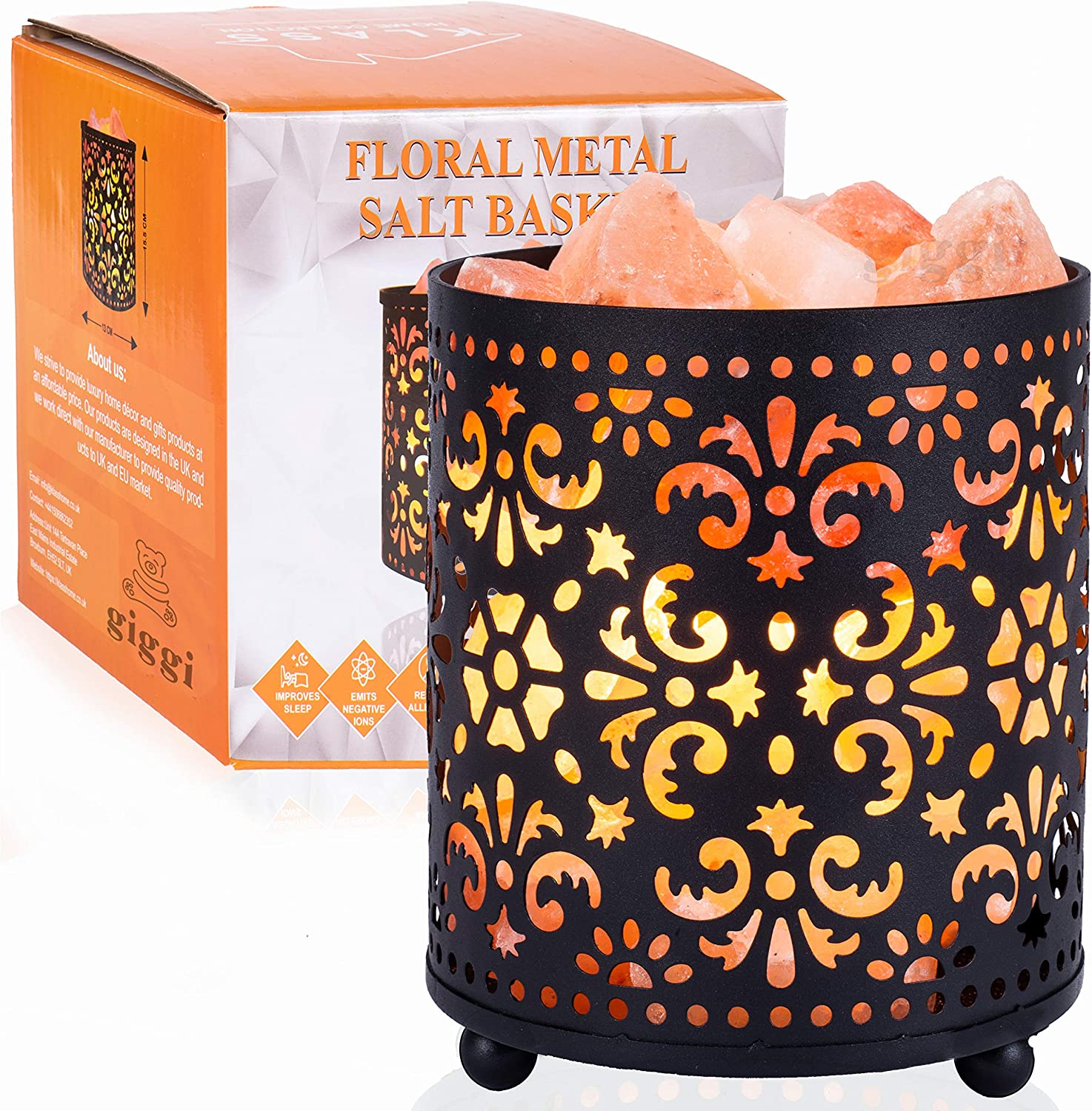 Fancy Himalayan salt lamp