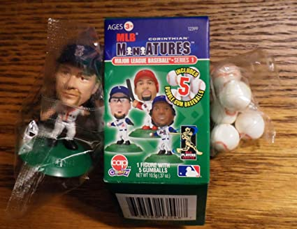 2006 Corinthian MLB Miniatures Curt Schilling Boston Red Sox Mini