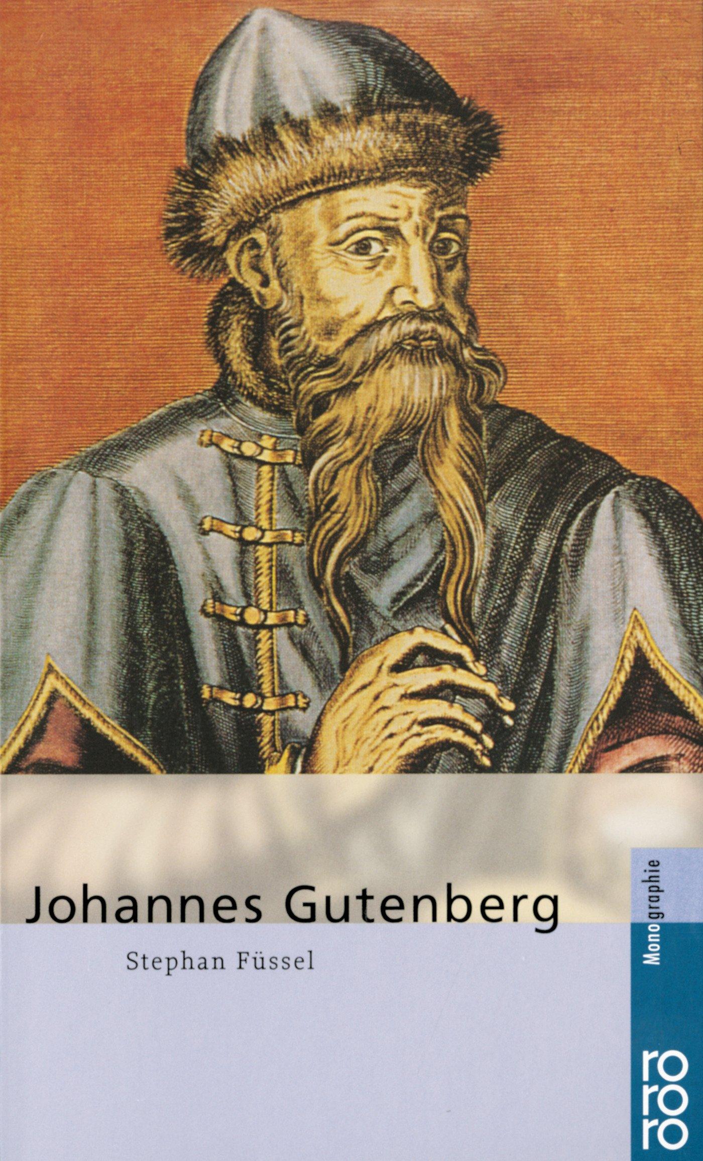 Johannes Gutenberg Amazon.de Füssel, Stephan Bücher