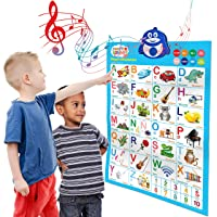 Bilingual Talking Poster: Music + ABC + 123s + Eng & Spanish + Songs - Perfect educational...