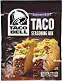 Taco Bell Taco Seasoning Mix 1oz (6 Packets)
