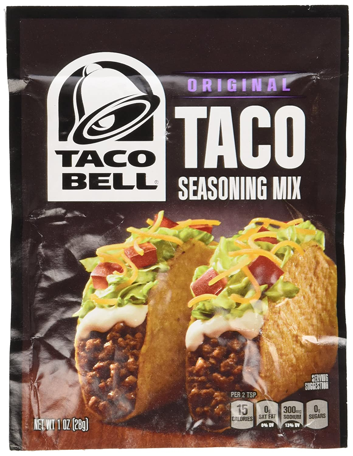 Amazon Com Taco Bell Taco Seasoning Mix 1oz 6 Packets Mexican Seasoning Grocery Gourmet Food