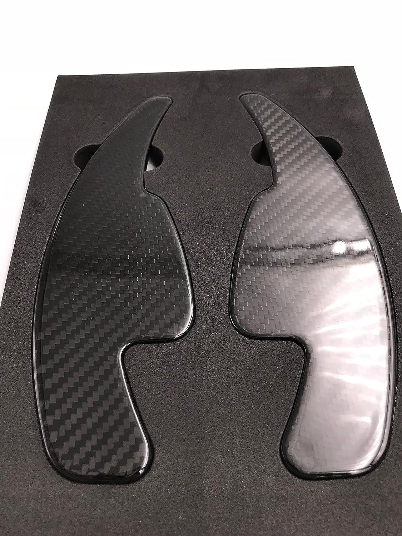 H-Customs DSG bascule Shift Paddle Extension Palettes de Commande en carbone r/éel 2015-2018 A4 S RS Q v/éritable carbone TTS A5 A6 TT