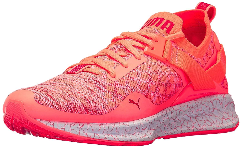 PUMA Women's Ignite Evoknit Lo Hypernature Wn Sneaker B01MQXN30R 7.5 M US|Nrgy Peach-poppy Red-puma White