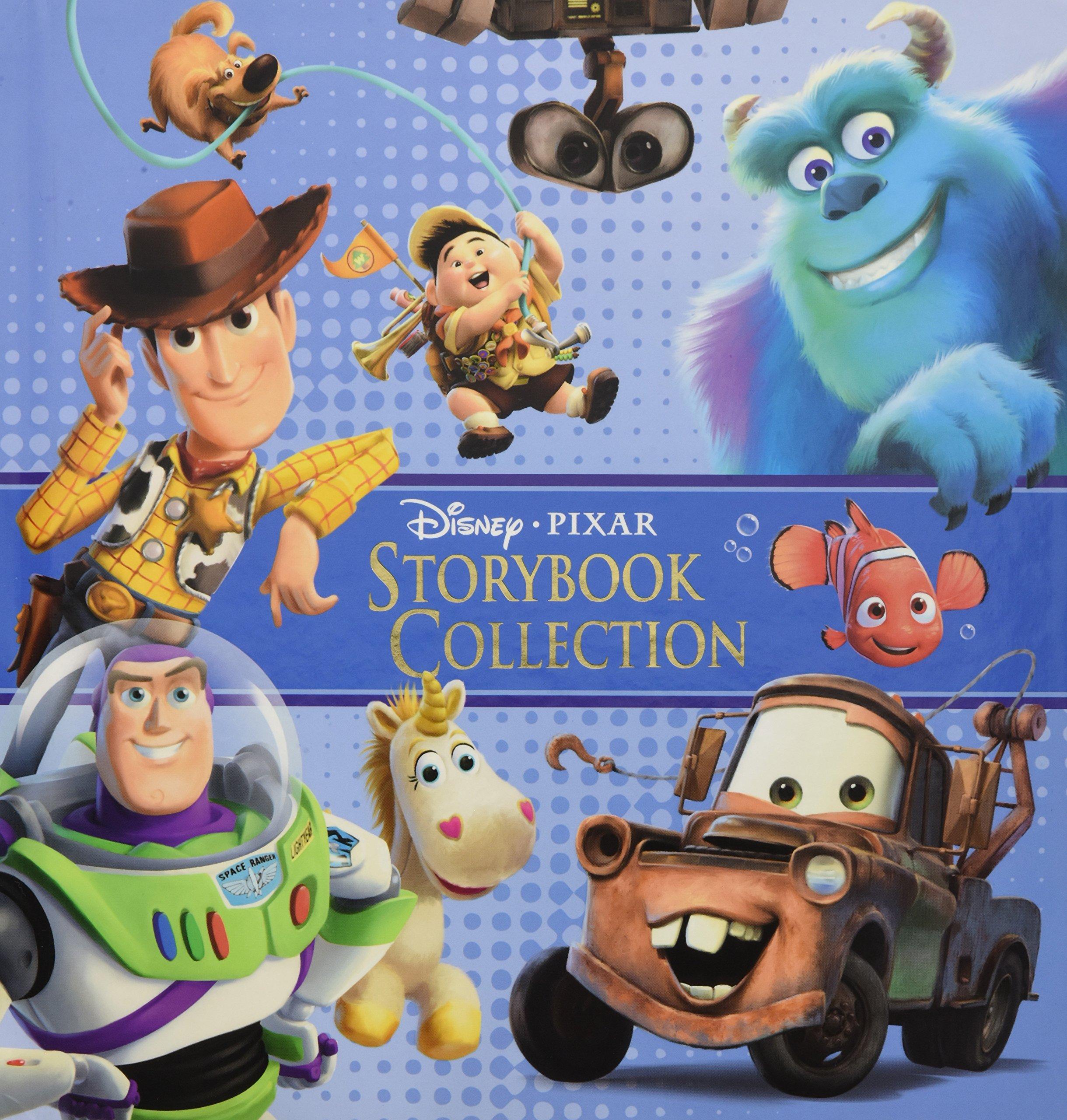 disney pixar storybook collection annie auerbach 9781423124238
