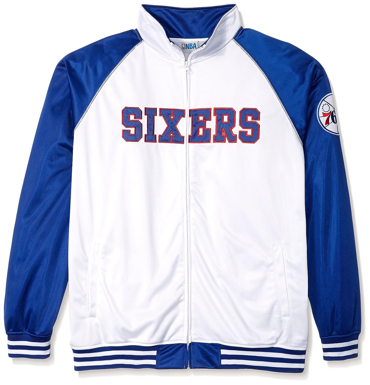 Tricot de la NBA hombres chaqueta de chándal - NBA406AM-76 -WHITE ...