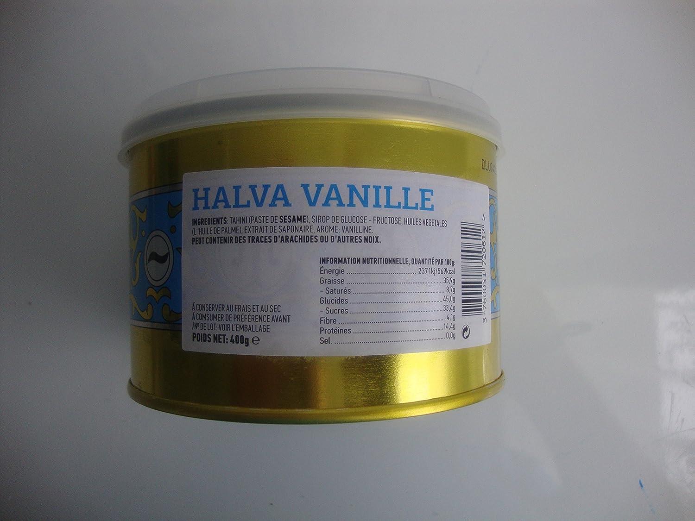 Turrón de vainilla Halva primera calidad 400g: Amazon.es: Alimentación y bebidas