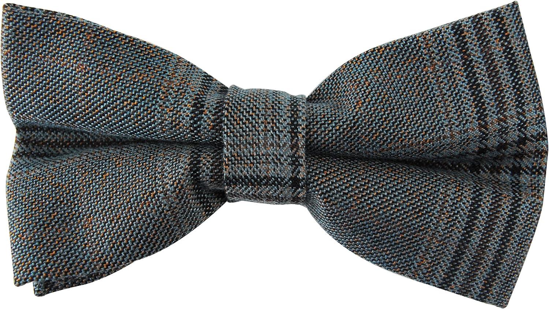 axy Bretelle per uomo di alta qualit/à colore nero con papillon Set di 4 clip con forma a X 2,5 cm di larghezza.