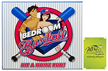 Bedroom Baseball, Adult Board Game For Couples And Lovers, Bundle