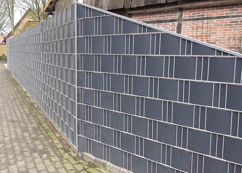 Profi Sichtschutz 35 Meter 1 1 mm PP Kunststoff anthrazit für
