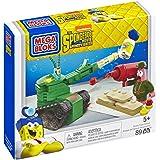Mega Bloks SpongeBob Pickle Tank Attack Building Set