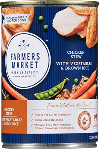 Farmers Market Pet Food Premium Natural Canned Wet Dog Food