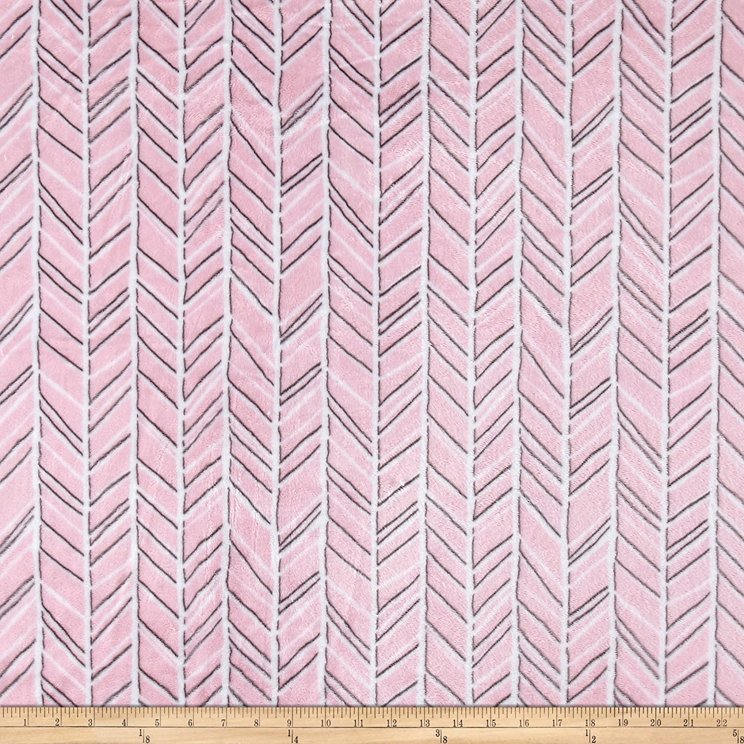 Shannon Fabrics Shannon Minky Cuddle Dimple Graphite Fabric by The Yard,