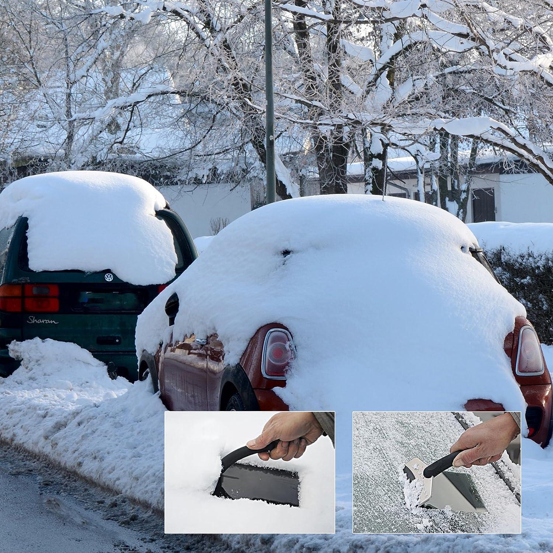 GWHOLE Stainless Steel Ice Snow Scraper Shovel for Car Windshields Refrigerator
