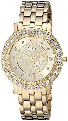 GUESS Women s Stainless Steel Crystal Watch