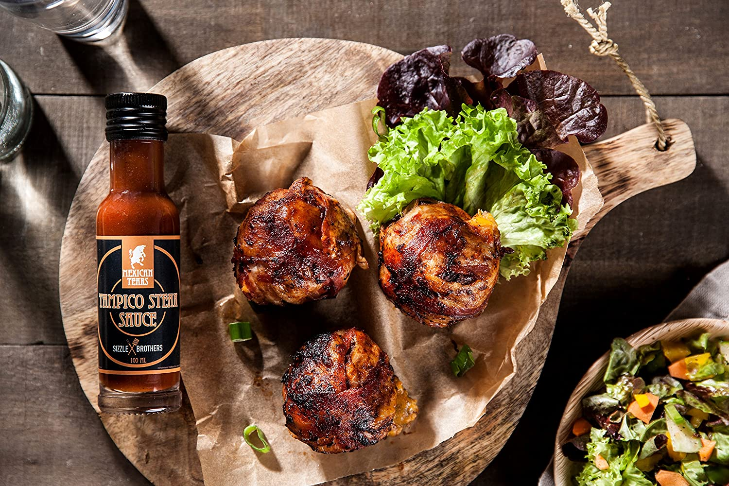Sizzle Brothers Spareribs Vom Gasgrill : Mexican tears® sizzlebrothers grillbox 3er pack scharfe sauce aus