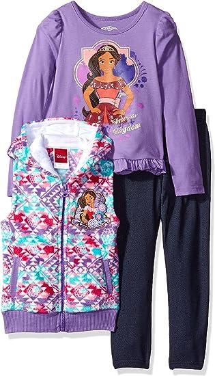 Disney Girls Elena of Avalor 3-Piece Pajama Set