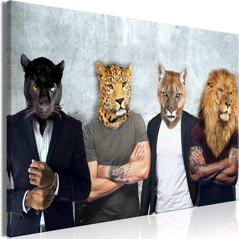 Wandbilder XXL Groß Bilder Tiere Kunstdruck zur Selbstmontage 160x80 cm